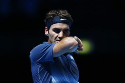 Федерер уступил Джоковичу в матче итогового турнира ATP