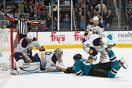 Арбитры не заметили гол в матче НХЛ
