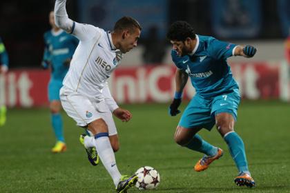 «Зенит» сыграл с «Порту» вничью в Лиге чемпионов
