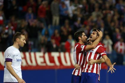 «Атлетико» разгромил «Аустрию» в четвертом туре Лиги чемпионов