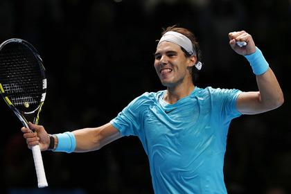 Надаль досрочно вышел в полуфинал итогового турнира ATP