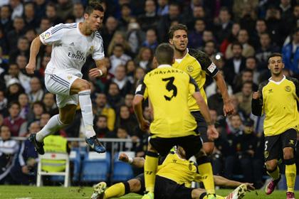 «Реал» забил семь голов в матче чемпионата Испании