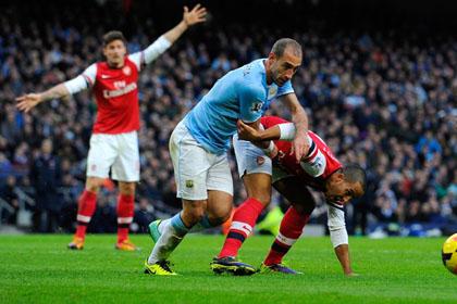 «Манчестер-Сити» разгромил «Арсенал» со счетом 6:3