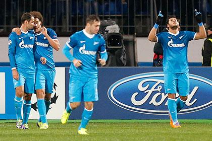 «Зенит» узнал соперника в 1/8 финала Лиги чемпионов