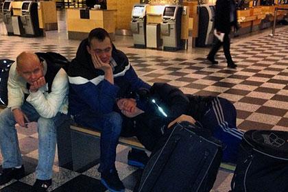 Пловцы сборной России застряли в датском аэропорту