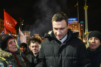 Виталий Кличко отказался от титула чемпиона мира по боксу