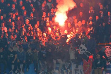 «Зенит» лишили поддержки фанатов в матче Лиги чемпионов из-за расистского баннера