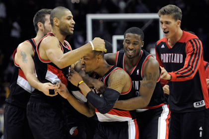Лидер НБА вырвал победу за четыре секунды до конца матча
