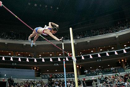 Журналисты признали Исинбаеву лучшей спортсменкой года в России
