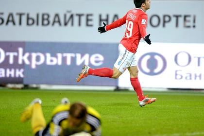 «Спартак» забил шесть мячей в ворота «Волги»