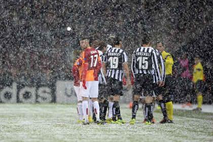 Матч «Галатасарай» — «Ювентус» перенесен из-за снегопада