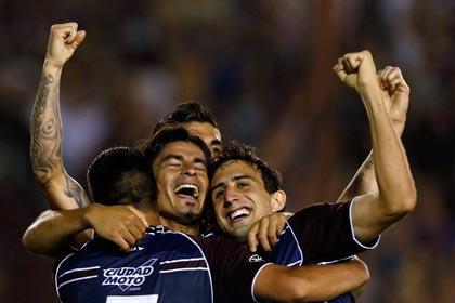 Аргентинский клуб выиграл Кубок Южной Америки по футболу