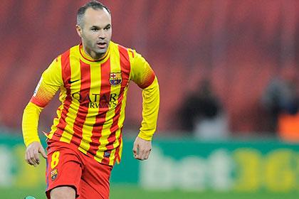 Иньеста продлит контракт с «Барселоной»
