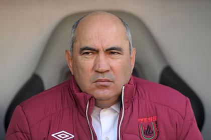 «Рубин» уволил главного тренера