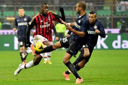 «Интер» с минимальным счетом обыграл «Милан»
