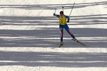 Судьи вернули победу российской биатлонистке