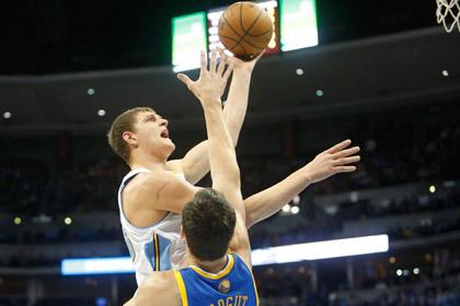 Тимофей Мозгов сделал дабл-дабл в матче НБА