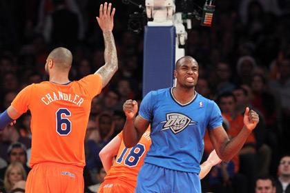 «Оклахома» победила в матче НБА с разницей в 29 очков