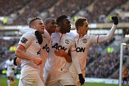 «Манчестер Юнайтед» отыграл два мяча в матче чемпионата Англии