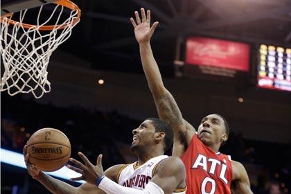 Бросок с сиреной во втором овертайме решил исход матча НБА