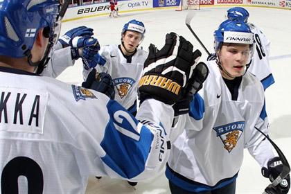 Российские хоккеисты проиграли Финляндии на молодежном ЧМ