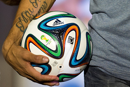 В Бразилии представили официальный мяч ЧМ-2014
