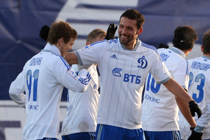 «Динамо» разгромило «Урал» в матче чемпионата России по футболу