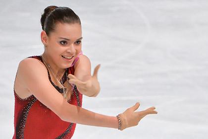 Российская фигуристка стала второй в короткой программе в финале Гран-при