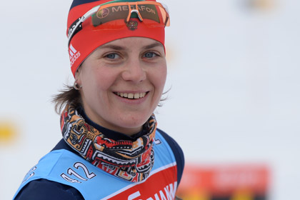 Российская биатлонистка выиграла медаль на этапе Кубка мира