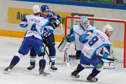 Аутсайдер КХЛ одержал первую выездную победу в сезоне