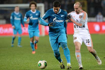 «Зенит» вернулся на первое место в чемпионате России