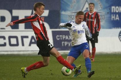 «Динамо» поднялось на четвертое место в чемпионате России