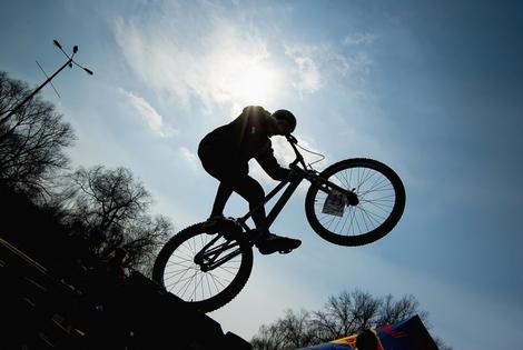Открыт набор на занятия по велотриалу