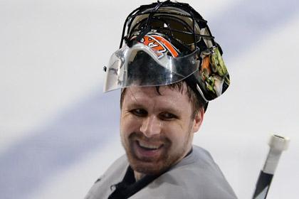 Брызгалов пропустил пять шайб в матче НХЛ