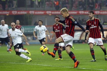 Кейсуке Хонда забил первый гол за «Милан»