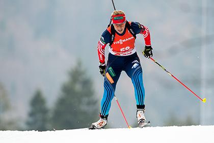 Ольгу Зайцеву сняли с гонки на этапе Кубка мира