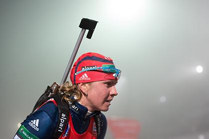 1,7 секунды отделили российскую биатлонистку от медали