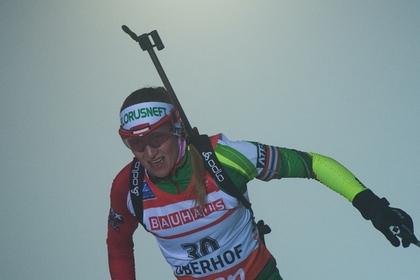 Белорусская биатлонистка одержала вторую победу на этапе Кубка мира