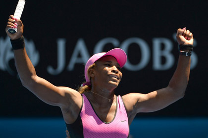 Серена Уильямс побила рекорд Australian Open по победам