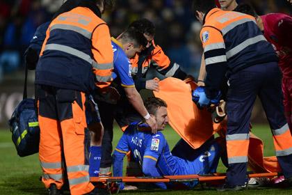 Испанский футболист травмировал яичко в матче с «Барселоной»