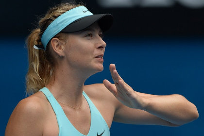 Мария Шарапова вышла в 1/8 финала Australian Open