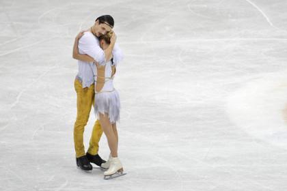 Российские пары заняли весь пьедестал почета на ЧЕ по фигурному катанию