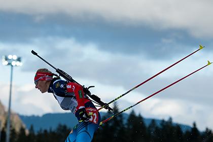 Назван состав олимпийской сборной России по биатлону