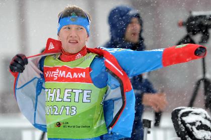 Российский биатлонист взял серебро на этапе Кубка мира