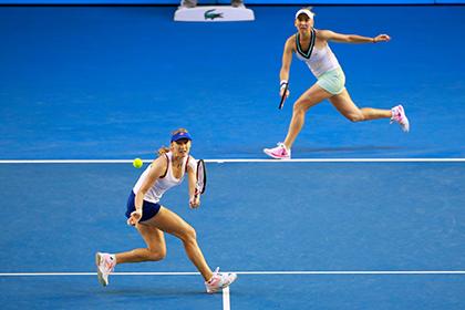 Российская пара проиграла в финале Australian Open