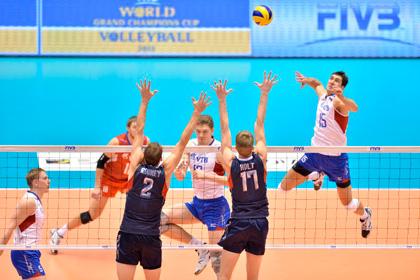 Российские волейболисты узнали соперников по чемпионату мира
