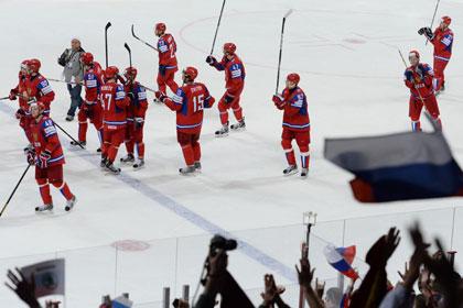 Матч сборной России по хоккею отменили из-за отсутствия судей