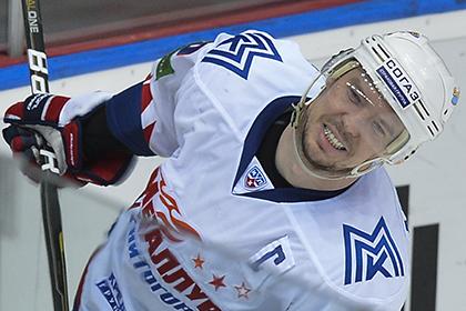 Лучший бомбардир КХЛ набрал три очка в матче с аутсайдером