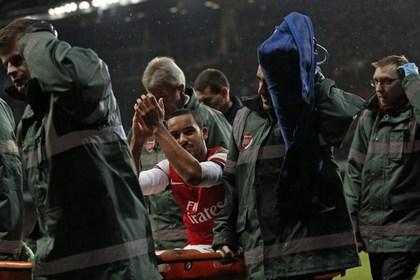 Полузащитник «Арсенала» Тео Уолкотт выбыл до конца сезона из-за травмы