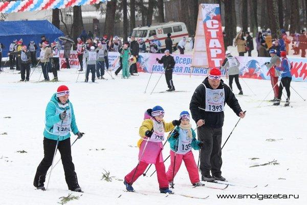 «Лыжня России» стартует в Смоленске 2 февраля